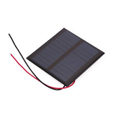 Solar Panel Epoxy Plate Polysilicon Charging Power Supply System With Wire Mini