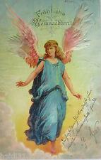 """""""Weihnachten, Engel"""" 1899, mit echten Federn ♥ (15523)"""