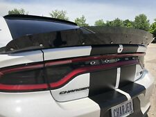 2 Piece 15-20 Dodge Charger SRT ScatPack Hellcat Rear Wicker Bill Spoiler