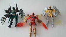 Power Rangers Mystic Force Dragon Bandai 2005 Set Of 3 Dragon force
