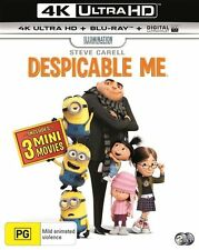 Despicable Me (Blu-ray, 2017, 2-Disc Set)