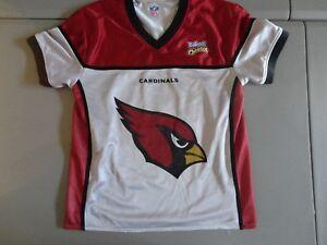 Arizona Cardinals Reversible Flag Football NFL Screen Jersey Fits Adult S NICE