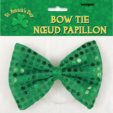 ST PATRICK'S DAY PARTY SUPPLIES GREEN BOW TIE DRESS UP IRISH GREEN