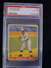 1933 Goudey #35 AL SIMMONS HOF White Sox PSA 4 VG-EX *Check out my other listing