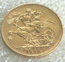 1884  Victoria Gold  Full  Sovereign.@ agd14