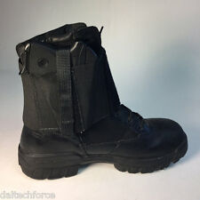 Black Boot Elastic Concealed Gun Holster w/ mag pocket  -  Over the Boot CCW USA
