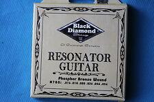 Black Diamond, Resonator Guitar Phosphor Bronzel Wound Strings, N780