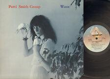 PATTI SMITH WAVE 1979 LP co USA  Innersleeve Patti Smith Group Waves