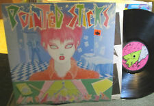 POINTED STICKS Perfect Youth LP KBD Punk wave '80 dr. demento library rare canad