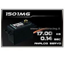 SERVO ANALOGICO 17 kg HIGH SPEED POWER HD INGRANAGGI IN METALLO HIMOTO HD-1501MG