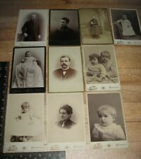 9 Cabinet Cards All From Amsterdam New York 1 ID
