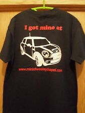 MINI COOPER black graphic L t shirt