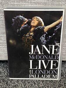Jane McDonald - Live At The London Palladium Dvd Viewed Once