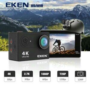 H9R Action Video Camera Ultra HD 4K 30fps WiFi 2.0-inch 170D Waterproof Sport S