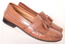 Florsheim 18121 Bramwell Stitched Moccasin Tassel Kiltie Loafers Men's US 10D