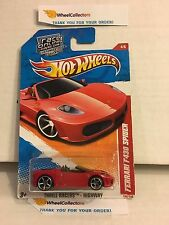 Ferrari F430 Spider #190 * RED * 2011 Hot Wheels * W60