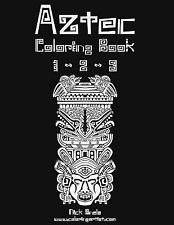 Aztec Coloring Book 1, 2 And 3 by Nick Snels (2014, Paperback, Large Type)