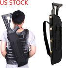 US 19 Inch Tactical Shotgun Rifle Scabbard Bag Holster Molle Shoulder Sling Case