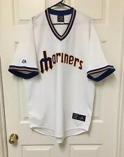 NEW Ken Griffey Jr. Seattle Mariners MAJESTIC Jersey MLB SEWN XL