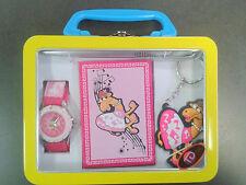 Tdx5501k39 tempo design Kids PORTACHIAVI, Orologio Con Penna & Notebook SCATOLA REGALO