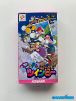 POP'N TWINBEE Nintendo Super Famicom SFC SNES JAPAN Ref:311434
