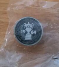 New Barbour International 1964 Metal Pin Badge Motorcycle Car Coat Jacket Rare