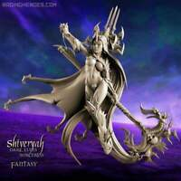 Shiveryah, Staff Sorceress-Raging Heroes- Drukhari Khaine Eldar Aelves Psyker