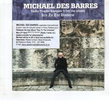 (HL578) Michael Des Barres, Key To The Universe 4 track sampler - 2015 DJ CD