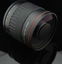HD Telephoto TELE Mirror Lens 500mm f/6.3 for M4/3 Digital SLR Camera E-500