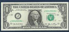 """2006 $1 *J-Series/Star Note* FRN """"Gem Crisp New"""" *Free S/H After 1st Item*"""