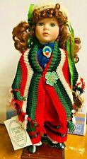 """Irish Lass Collectors Doll  Brigid  The Aran Islander  16"""" Tall"""