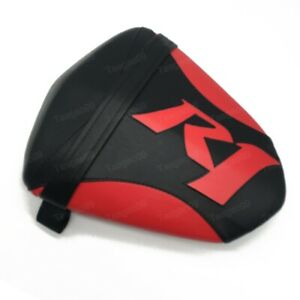 Motorcycle Black&Red Rear Passenger Seat Pillion For Yamaha YZF-R1 2009-2014
