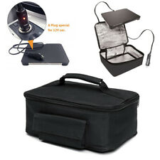 12V Portable Car Electric Lunch Heater Box Picnic Camping Oven Hot Food Bag USA