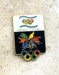 NOC Israel 1998 Nagano OLYMPIC Games Pin Enamel
