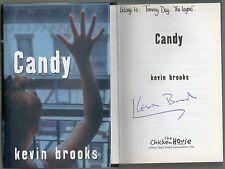 SIGNED KEVIN BROOKS CANDY FIRST EDITION HARDBACK U/C DJ 2005