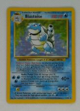 Blastoise MP (Base Set Pokemon 2/102) Moderate Play See All Pictures