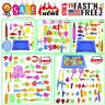 52PC Bathing Dolls Toys For Kids Fishing Magnetic Floating Fishing Game Hobbies