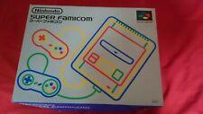 NEW Nintendo Super Famicom 1CHIP-01 SFC Console Boxed System JAPANESE JAPAN