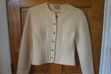 Strick Meister Jacket from Austria ,  Women's S,  Cream