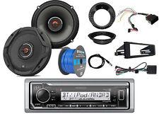 """Kenwood Marine Bluetooth Radio,2x JBL 6.5"""" Speakers -Bulk Packaging, Accessories"""