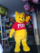 Winnie The Pooh Bear Mascot Costume Adult For Sale