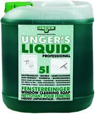Unger FR500 Unger´s Liquid 5 Liter Kanister Fensterreiniger-Seife Glasreiniger