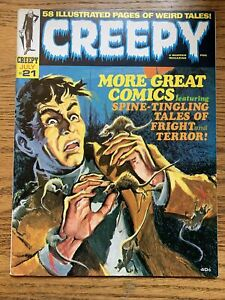 Creepy #21 (1968) Warren Silver Age Horror Nice FN/VF THE RATS IN THE WALL