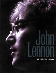 John Lennon (Unseen Archives) by Clayton, Marie & Gareth Thomas. Hardback Book