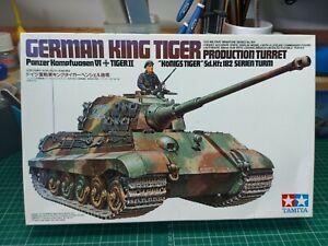 Tamiya 1/35 King Tiger - Part built with Eduard Zimmerit