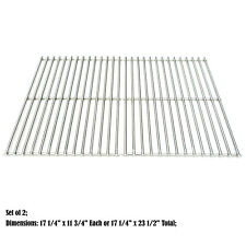 Weber gas grill Replacement Solid Stainless Steel Cooking grid, set of 2