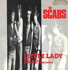 "THE SCABS - Little Lady / When You Sigh - belgish 7"" - 1990"