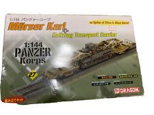 Morser Karl Railway Transport Carrier Panzer Corps German Railway Gun 27 Dragon