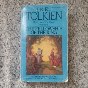 Vintage JRR Tolkien Paperback The Lord Of The Rings Part 1