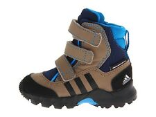 ADIDA'S OUTDOOR KIDS HOLTANNA SNOW BOOTS BLUE INFANTS SIZE 2 NIB